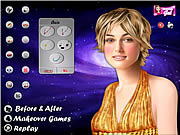 Keira Knightley Celebrity Makeover game