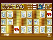 Lilo & Stitch - Memory Match-Up game