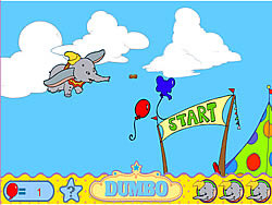 Dumbo's Great Race game