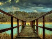 Watch free video Dock and Clouds HDR Time Lapse