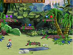 Neverland Treasure Hunt game