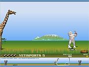 เล่นเกมฟรี Yeti Sports