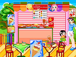 Ice Cream Stand Makeover game