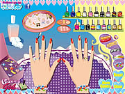 Juega al juego gratis Wedding Nail Makeover