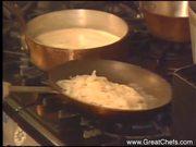 Sweet Potato Tortellini in Almond Cream Sauce
