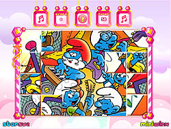 The Smurfs Mix-Up game