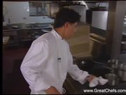 Watch free video Seared Cape Scallops with Cèpe Mushrooms