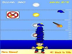 Cap Stack game