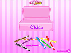 Chloe Clean Up game