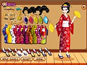 שחקו במשחק בחינם Kimono Style Dressupone