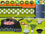 Sara's Cooking Class - Garlic Pepper Shrimp