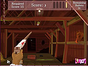 Barn Zombies Shootup game