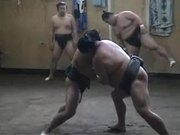 Watch free video Sumo Wrestling Practice