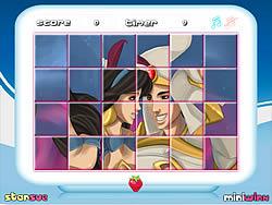Princess Jasmine Rotate Puzzle game