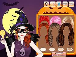 Halloween Make Up Game game