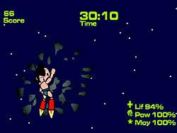 Astroboy vs One Bad Storm game