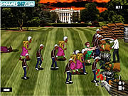 Obama Versus Zombies game
