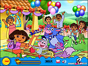 Treasure Hunt - Dora لعبة