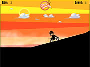 Ben 10 Hard Bike game