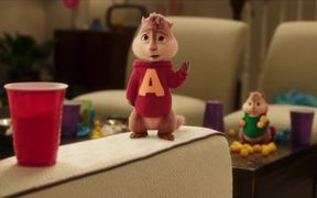 Alvin and the Chipmunks - The Road Chip Scene