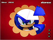 Sonic The Hedgehog - Round Puzzle game