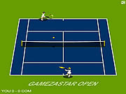 Gamezastar Open Tennis spel