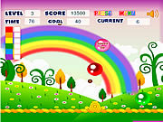 Rainbow Bubble game