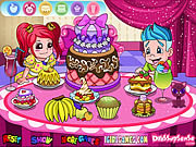 Juega al juego gratis Delicious Cake Dinner Party