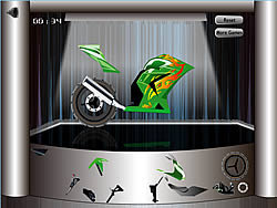 Bike Wheeling game