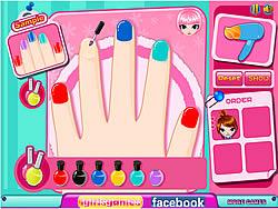 Cutie Nail Salon game