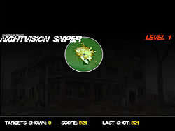 Night Vision Sniper game