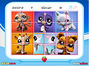 Littlest Pet Shop Rotate Puzzle game