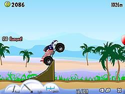 Truck Toss game