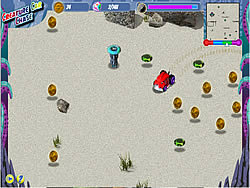 Creature Car Chase game