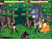 The King of Fighters vs DNF oyunu