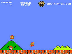 Super Mario Bros. Goomba Mode game