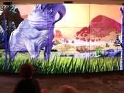 Dino Stomp Interactive Video Wall