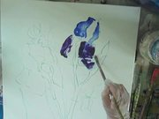 A Wet-in-wet Acrylic Painting Tutorial