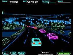 Neon Race game