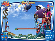 Jucați jocuri gratuite Lazy Town - The Pirate Adventure