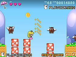 Princess Peach Adventure game