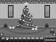 Grayscale Escape Christmas game