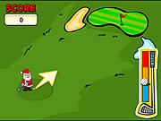 Christmas Putt & Play game