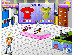 Boutique Frenzy game