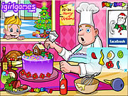 Tantalizing Christmas Cake game