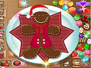 Santas Gingerbread Cookie