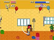Juega al juego gratis Jumpy Monkey