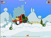 Juega al juego gratis Santa Truck