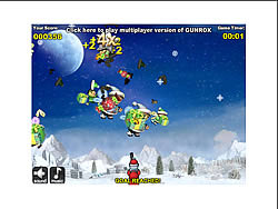 GUNROX Santa vs Elves game