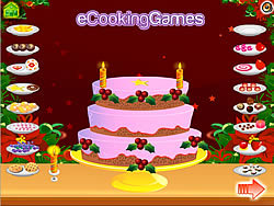 New Year 2011 Cake Decoration game